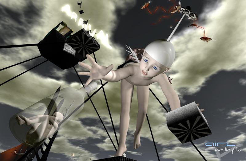 Saskia Boddeke aka Rose Borchovski _The arrival _AIRE Mille Flux_2
