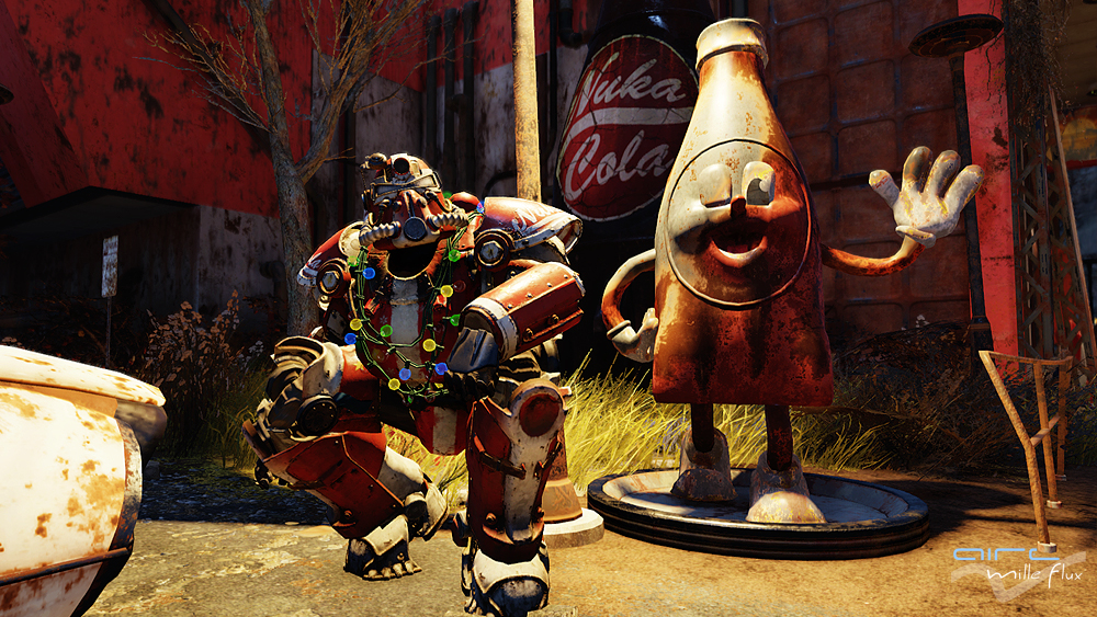 Power Armor Nuka Cola Factory_Fallout76_Aire Mille Flux