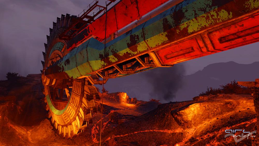 Excavateur Mount Blair _Fallout76_Aire Mille Flux