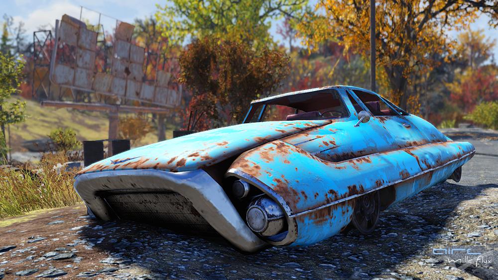 Fusion Flea rusty _Fallout76_Aire Mille Flux
