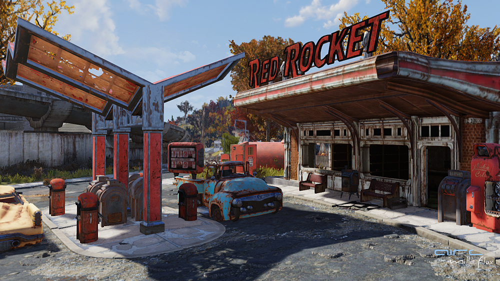 Red Rocket station_Fallout76_Aire Mille Flux